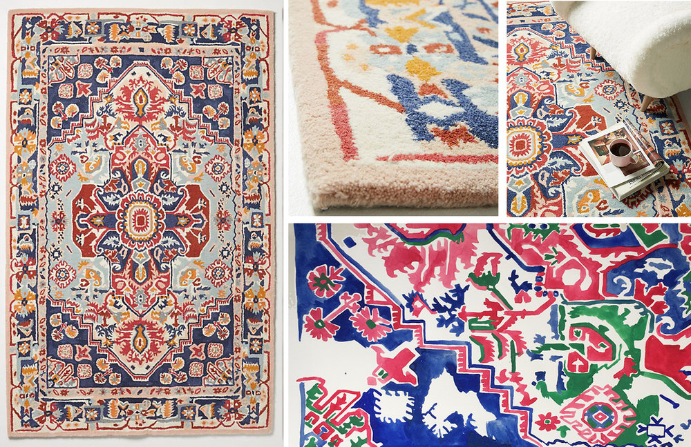 Anthropologie Home - Verity Rug - Fall 2018