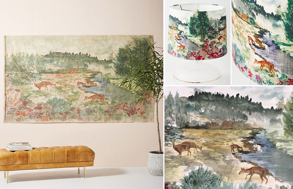 Anthropologie Home - Rosalie Tapestry - Fall 2018