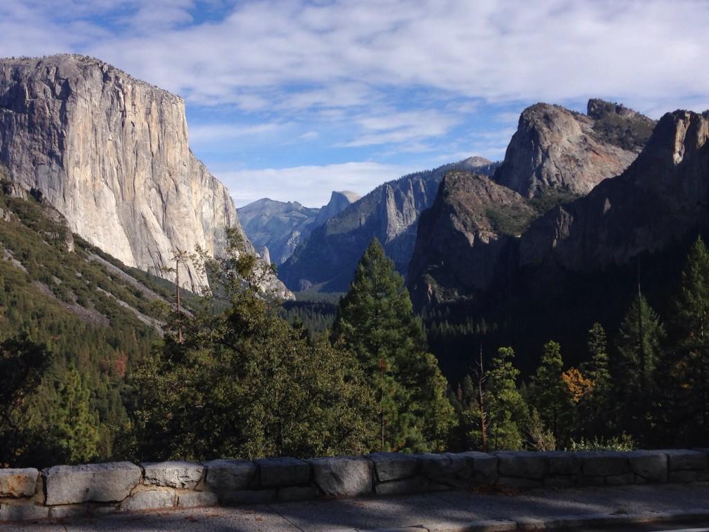 Tunnel View, Yosemite - Nov. 23, 2014