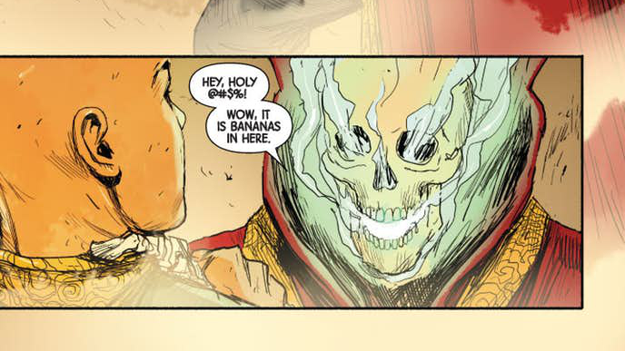 Yes. Yes it is.( Art by Niko Henrichon (and possibly Laurent Grossat) and Cory Petit)