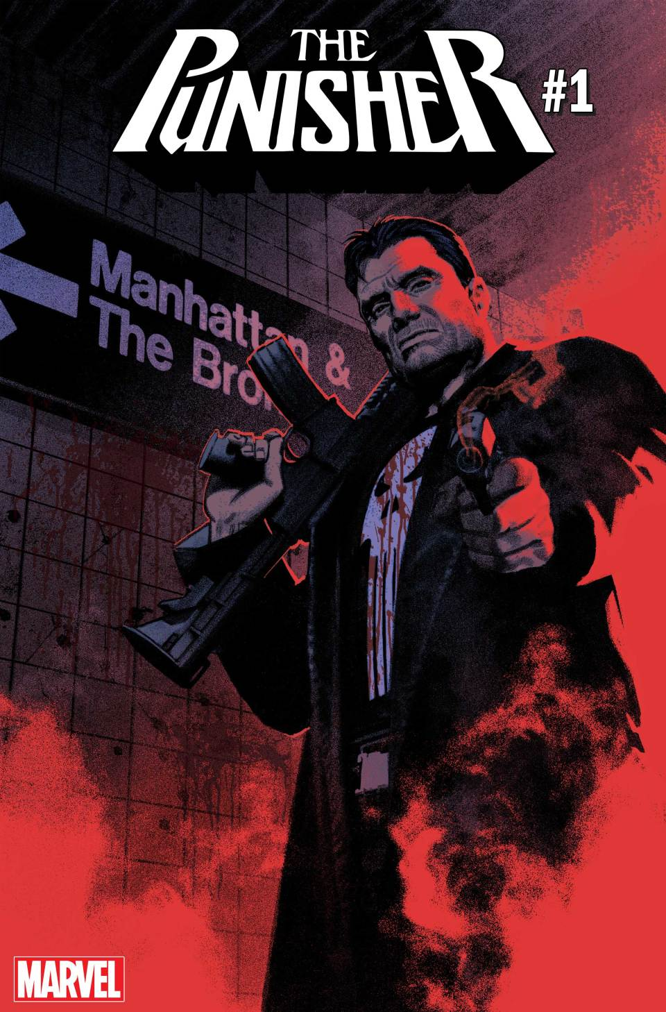 Image result for the punisher #1 relaunch comic