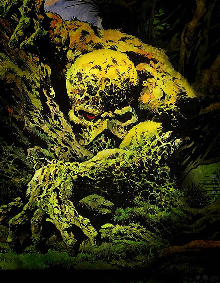 Pictured: Swamp Thing, ruling