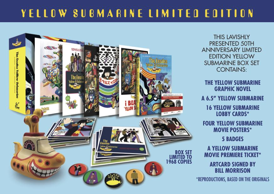 The Beatles Yellow Submarine Graphic Novel Gets A Deluxe Edition
