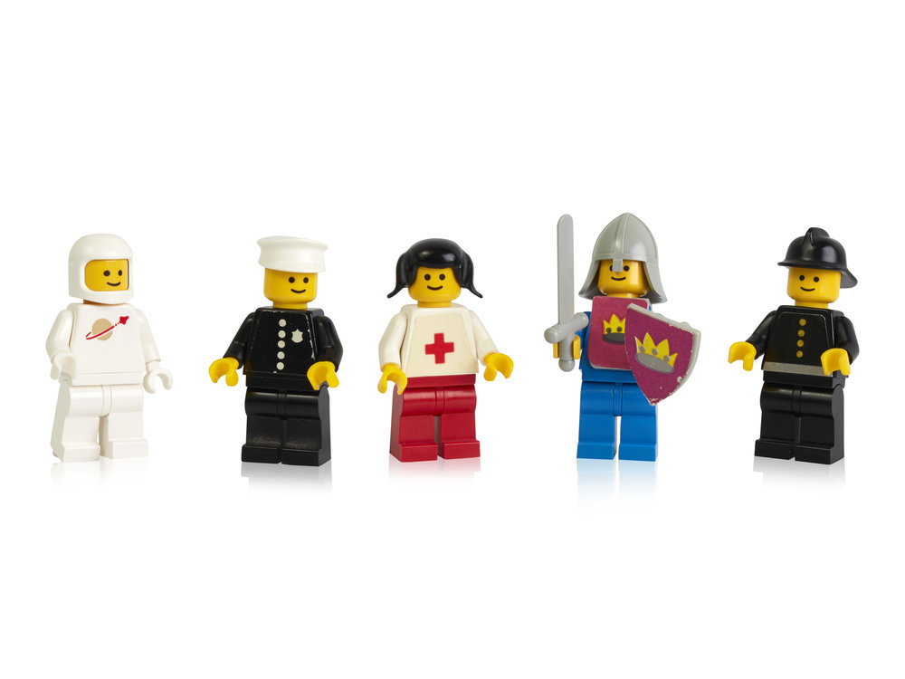 Some of the first LEGO minifigures launched in 1978.jpg
