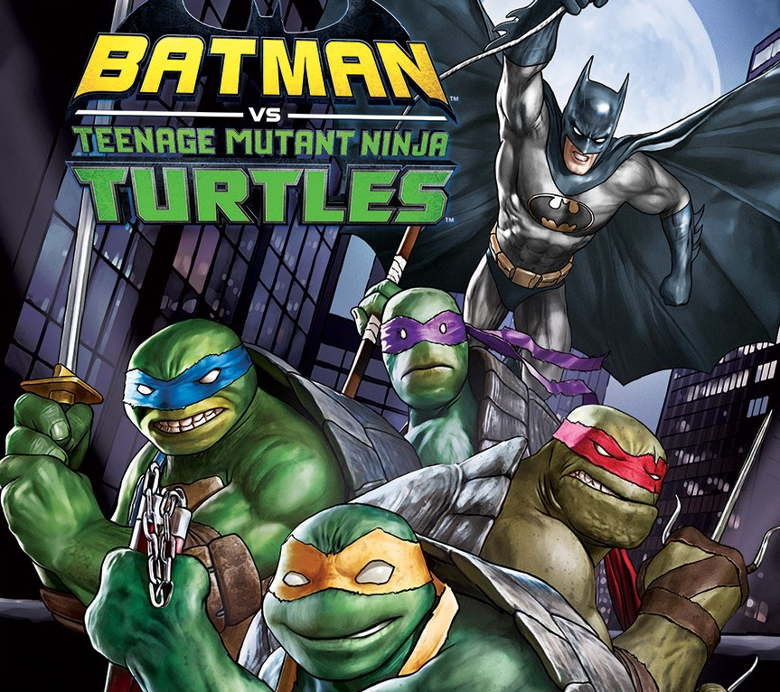 Batman And The Ninja Turtles Cross Paths In A New Animated Movie
