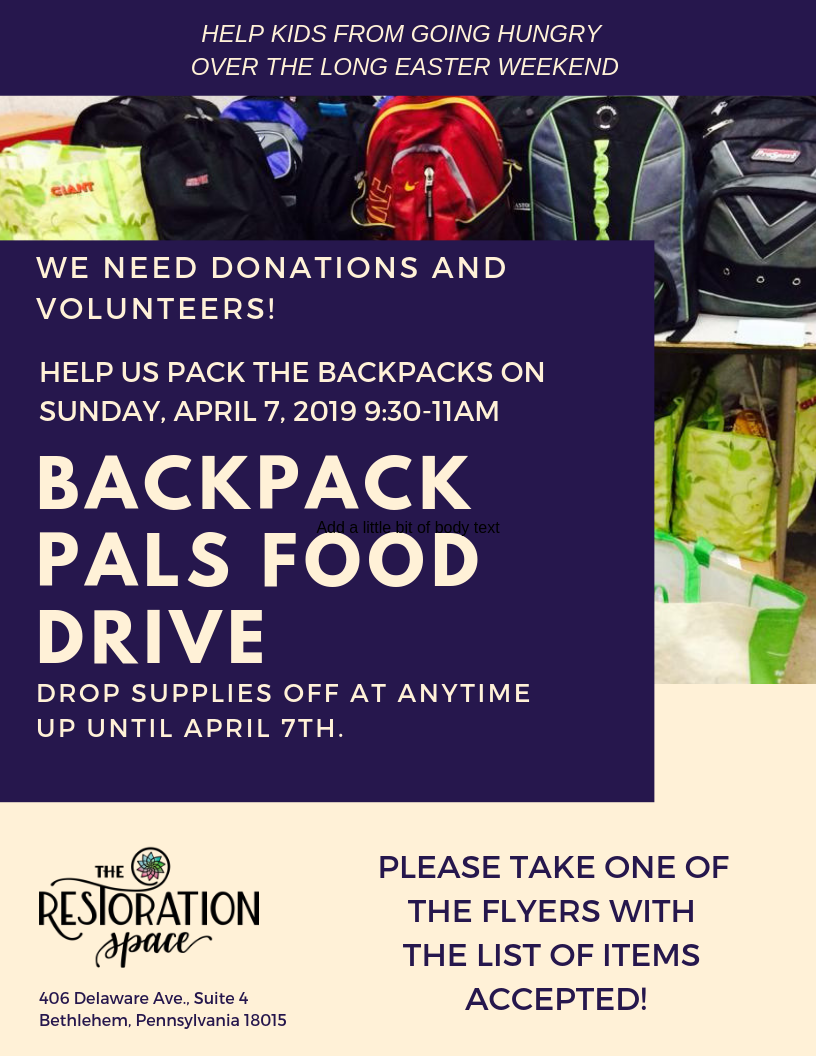 Backpack Pals food drive.png