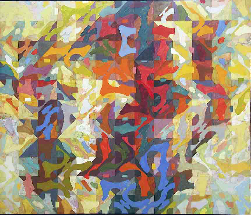 """""""Series Last""""  oil on canvas  48"""" x 36"""""""