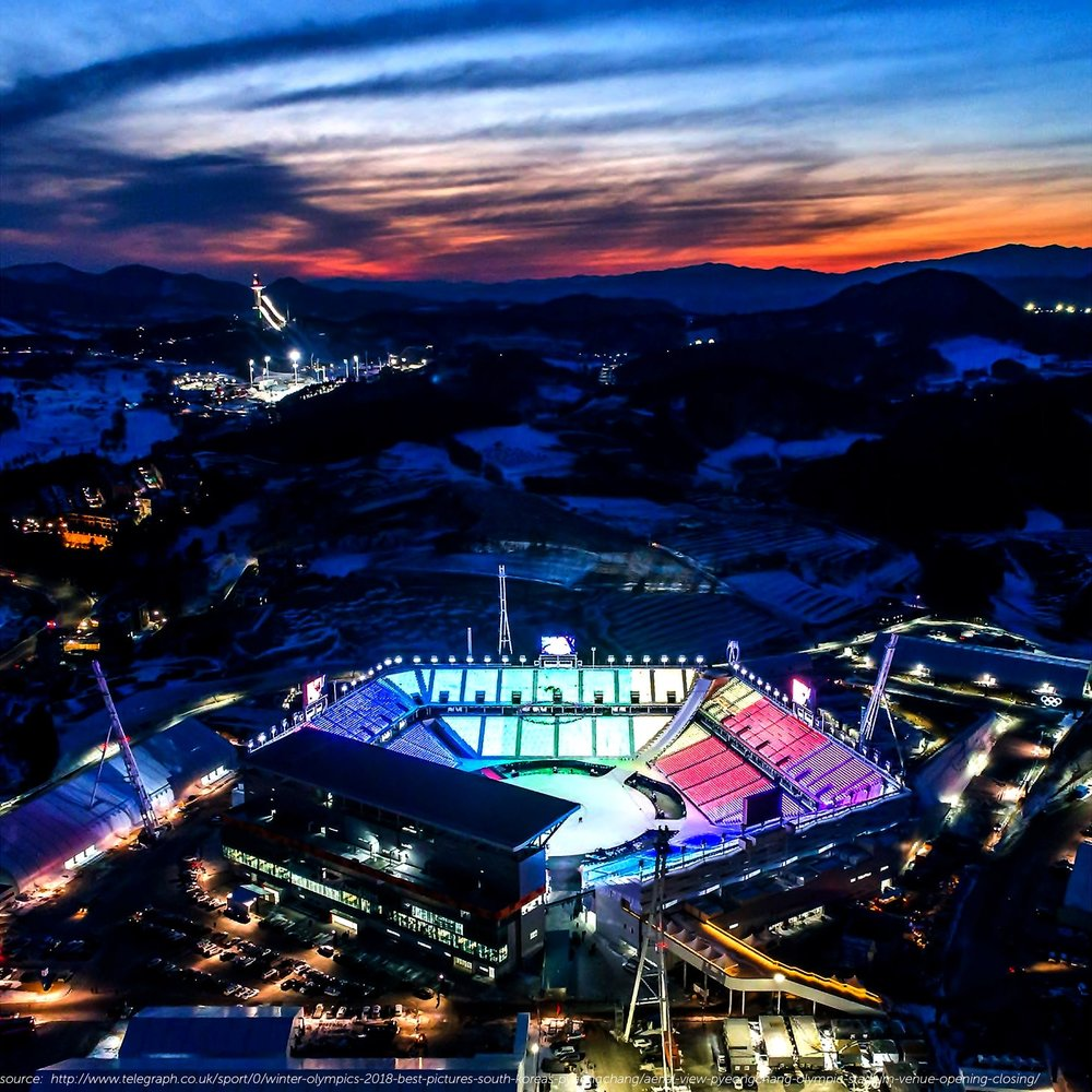 https://www.telegraph.co.uk/sport/0/winter-olympics-2018-best-pictures-south-koreas-pyeongchang/aerial-view-pyeongchang-olympic-stadium-venue-opening-closing/ - As the 2018 Winter Olympics come to a close, the watching world will quickly retreat to more routine affairs both at home and abroad, and Pyeongchang will likely fade in our collective memory. However, as urban designers, perhaps now is precisely when we should start paying attention to what is happening there. The sustainability of purpose-built sporting facilities and their associated infrastructures after the Olympics have ended has been a major topic of debate for host countries trying to justify the immense expense of their initial construction. These Olympic facilities have historically been extremely vulnerable to underuse in a city's post-Olympic period. With their original functions vanished, many of these facilities remain today only as faded monuments to bygone glory.However, successful examples of post-Olympic integration of facilities can be found in cities like Barcelona, which hosted the Olympics in 1992. Barcelona's strategy was the first attempt to consider the Olympics as 'a catalyst for the redevelopment of its waterfront' and subsequently designed a series of public spaces including parks, fountains and public arts in order to give something more permanent for the Barcelona residents, as well as retain tourist interest after the ending of the Games. 4 years later, the Atlanta Olympics in 1996 transformed athletes' housing into dormitories for Georgia Tech University students, reflecting the Olympic event's role as an impetus for civic improvements of the city. However, unlike cities that had to construct new facilities from scratch, Paris and Los Angeles won bids for the 2024 and 2028 Games respectively by planning to use their extensive network of existing facilities. This myriad of examples show us the varying needs and approaches that face Olympic host cities with respect to scale and 