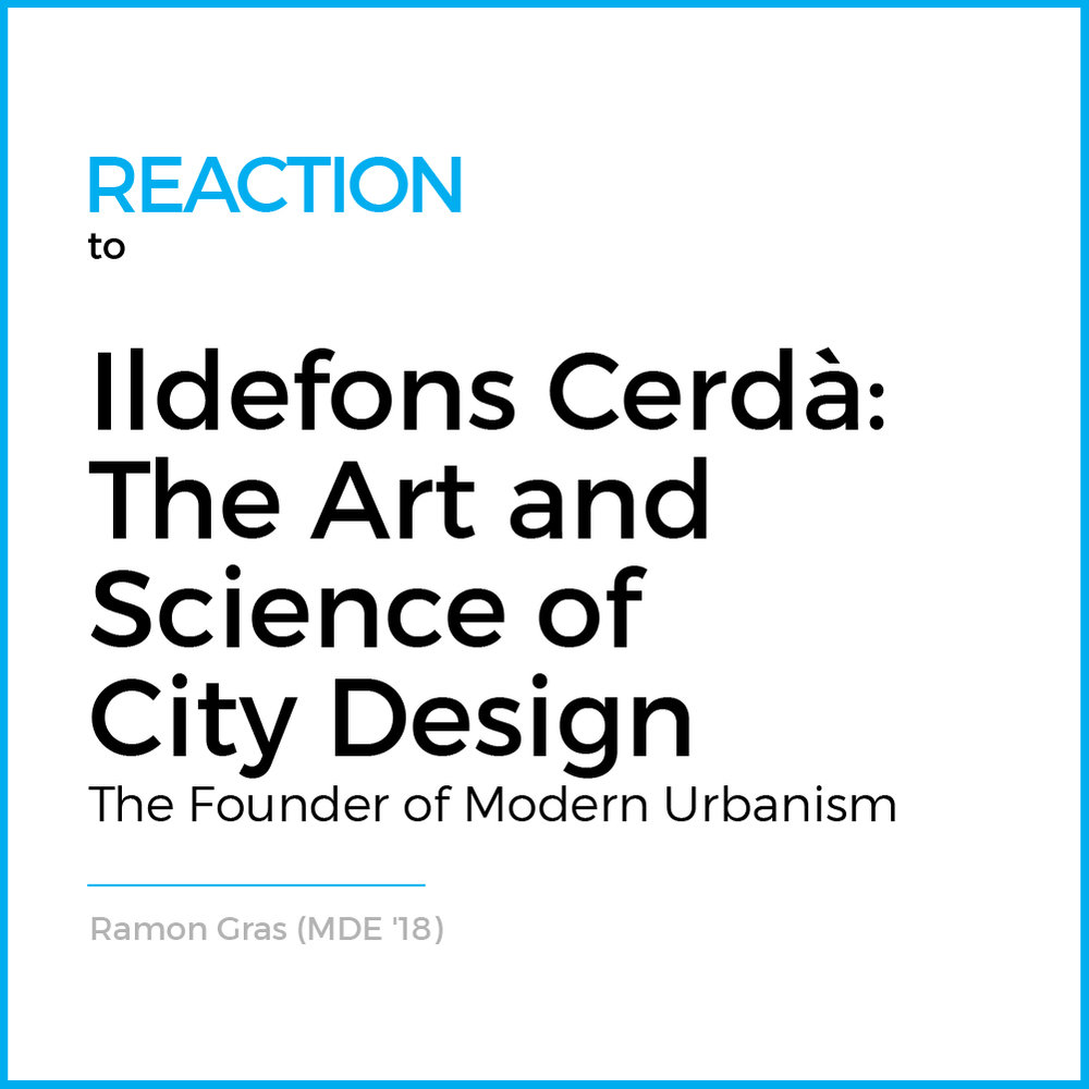 Last Wednesday, April 4th, 2018 the Harvard Graduate School of Design hosted the presentation of the very first translation into English of Ildefons Cerdà's fundamental theoretical writing...  (Read More)