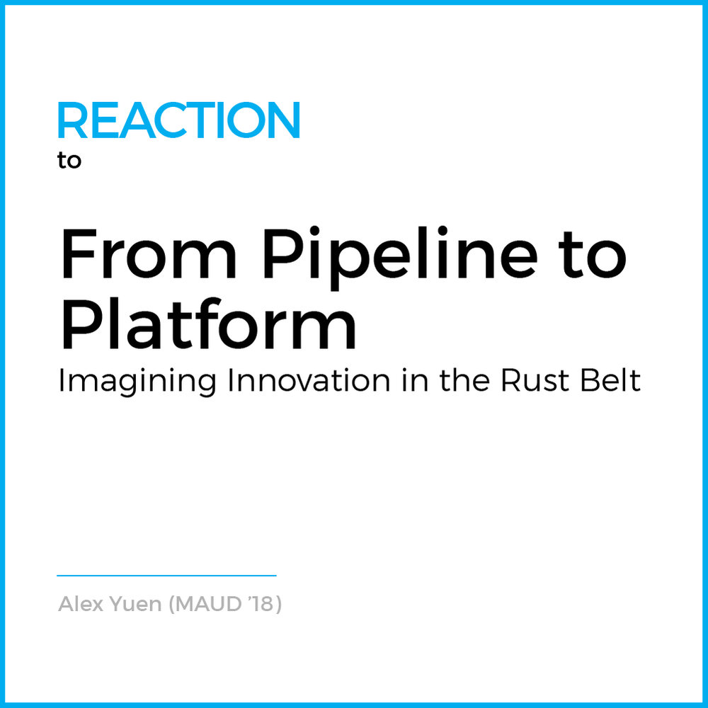Rust belts and innovation centers are in many ways indicative of America's position within the broader global economy. The development and prosperity brought about by America's industrial capabilities...( Read More )
