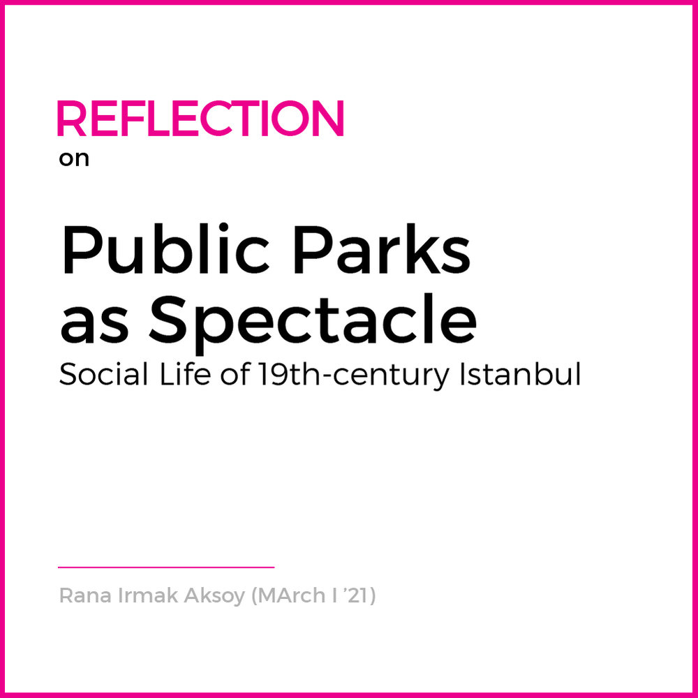 Proliferation of public parks is one of the key defining features of the changing urban fabric of 19th century Istanbul. Most scholarship has interpreted this proliferation merely as a symptom of the Western influenced modernization... ( Read More )
