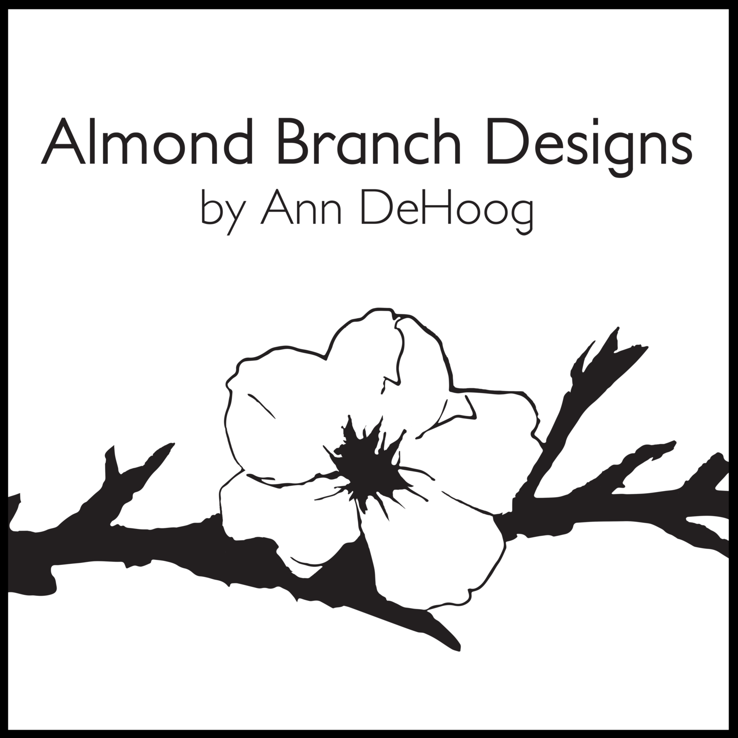 Almond Branch Designs by Ann DeHoog