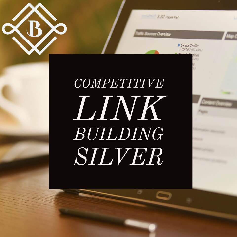 competitive Link building: silver - Leave the job to a professional agency to examine what your website needs the most, whether that's social profiles, business citations, press releases, or clean media links and guest posting to determine what your business needs the most for the best improvements in your rankings!