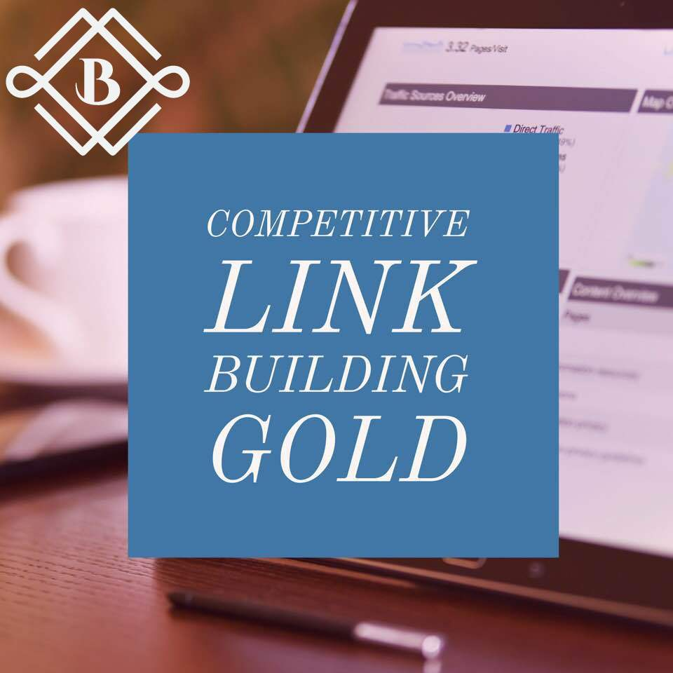 competitive link building: Gold - Leave the job to a professional agency to examine what your website needs the most, whether that's social profiles, business citations, press releases, or clean media links and guest posting to determine what your business needs the most for the best improvements in your rankings!