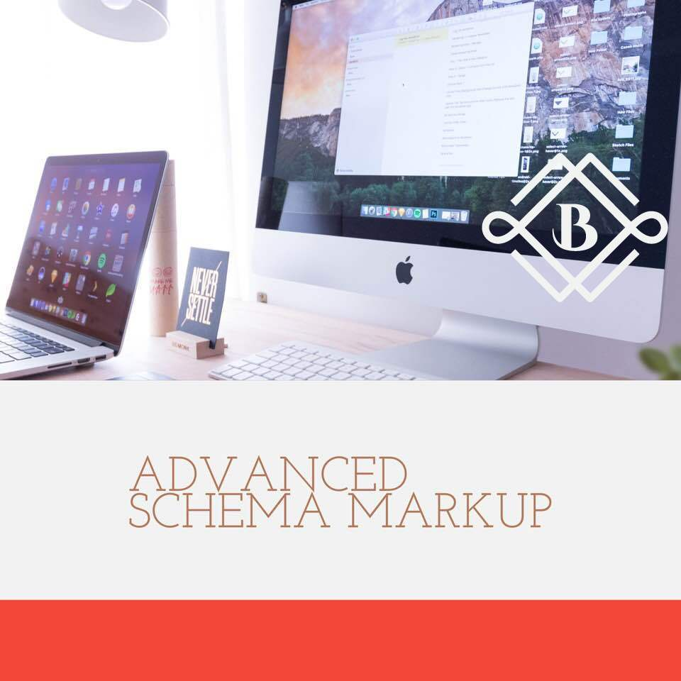 advanced schema markup - Schema markup for home page, about us, contact us, blog posts, website, images, videos, products, and breadcrumbs.