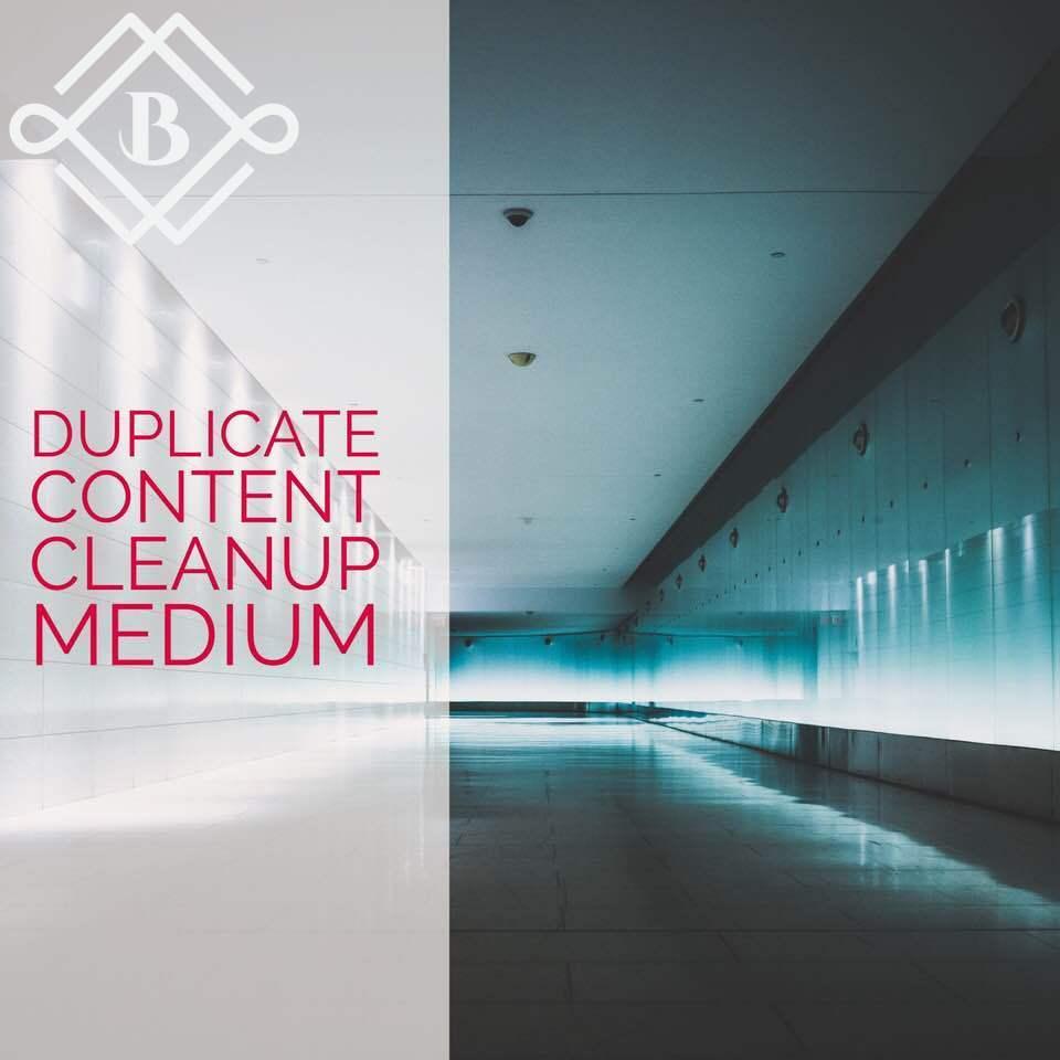 Medium Duplicate content cleanup - Optimize 5-9 landing pages with some the following: canonicals, noindex, 301's, 410's, etc.