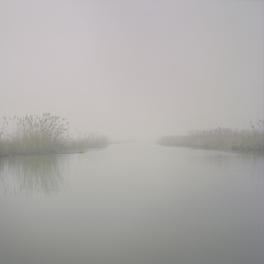 One of the numerous branches of the Danube Delta near Sulina