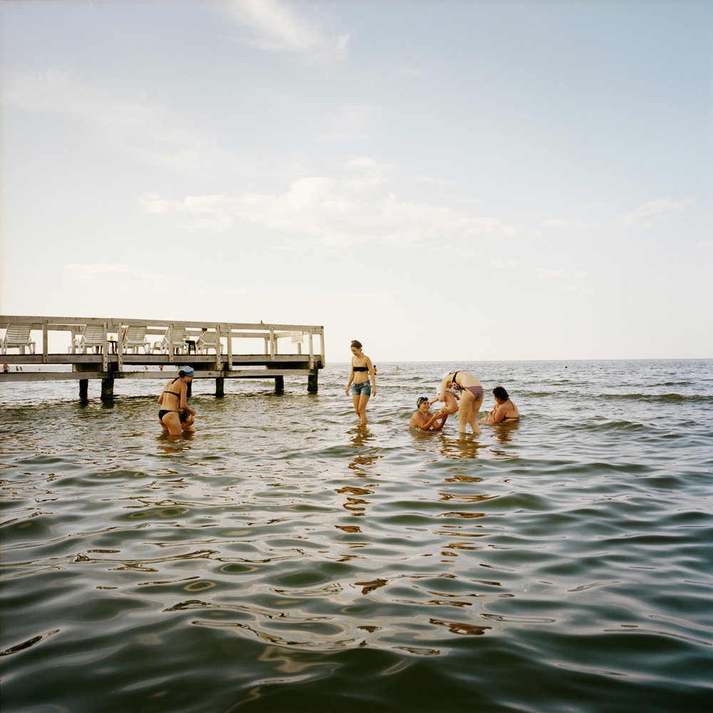 The Sulina beach