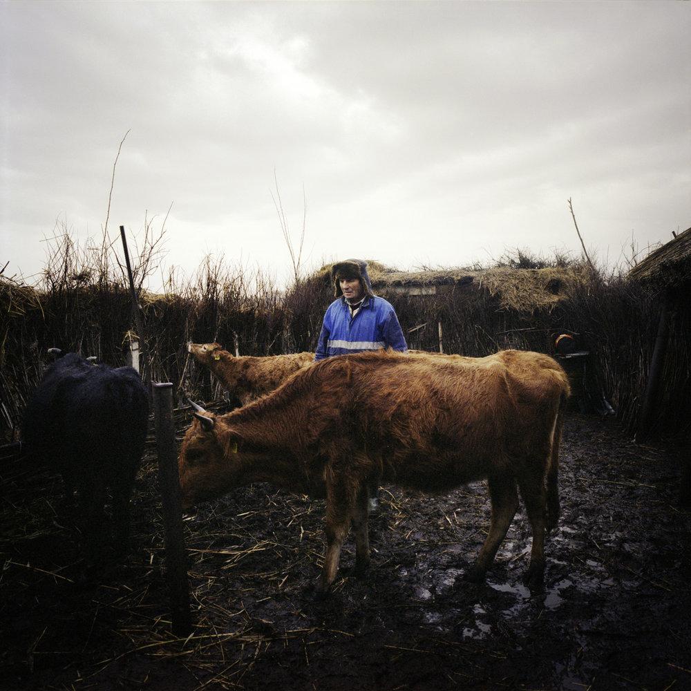 A farmer in Sulina