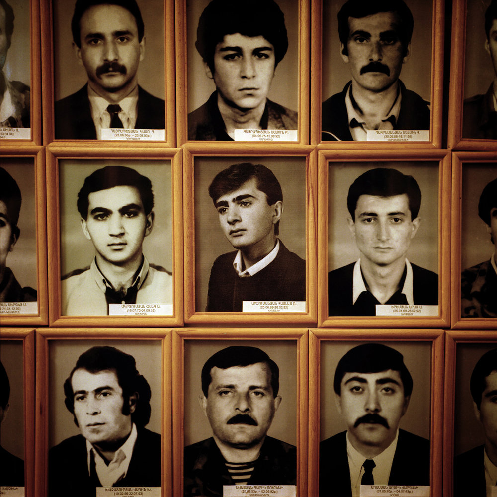 The museum of the soldiers dead during the war, in Stepanakert