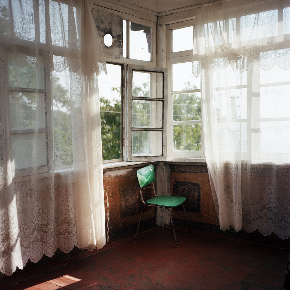 This house in Chouchi belonged to an azerbaijani family in the past, now it hosts an armenian family.