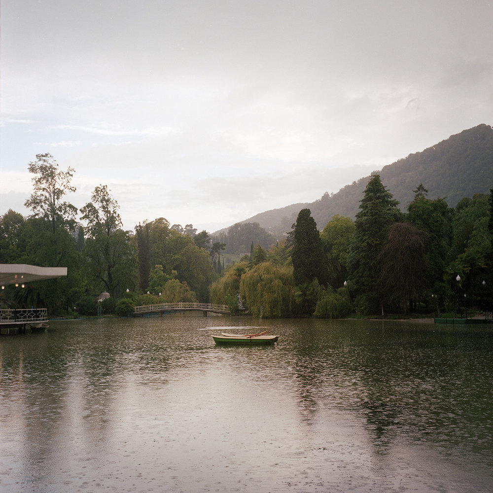 A lake in New Athos
