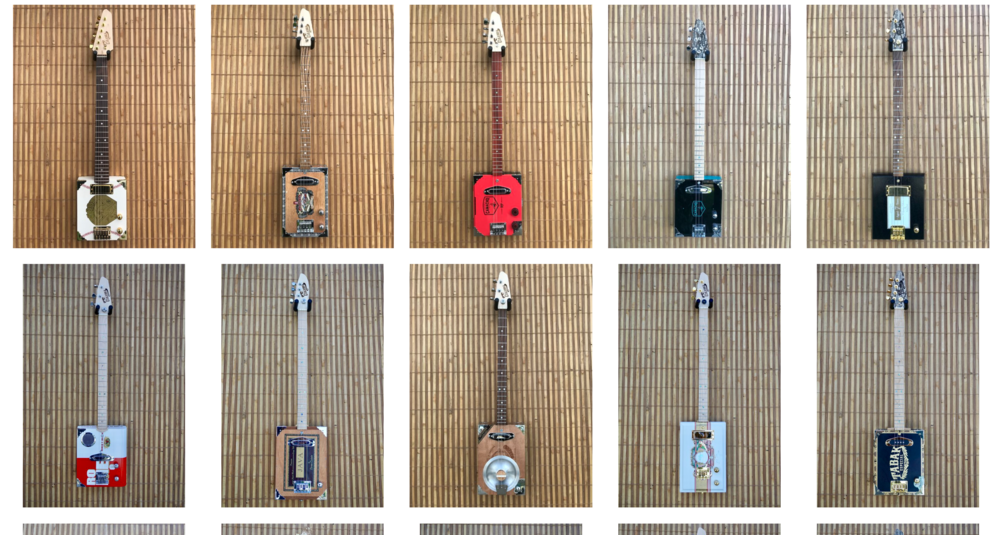 """Design your very own Custom """"One of a Kind"""" Cigar Box Guitar"""