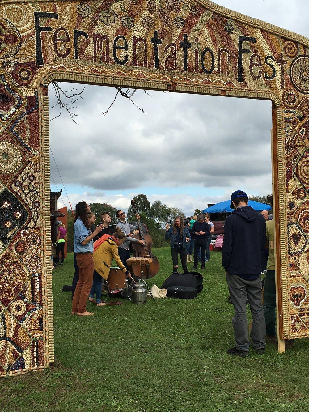 Wormfarm Institute's Fermentation Fest