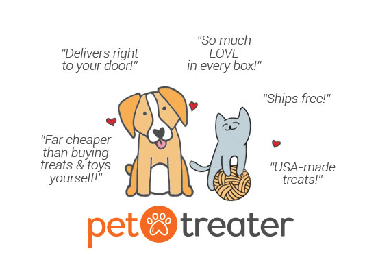 We love  Pet Treater  and Helping Paws receives $5 per new customer. Treats for everydog!