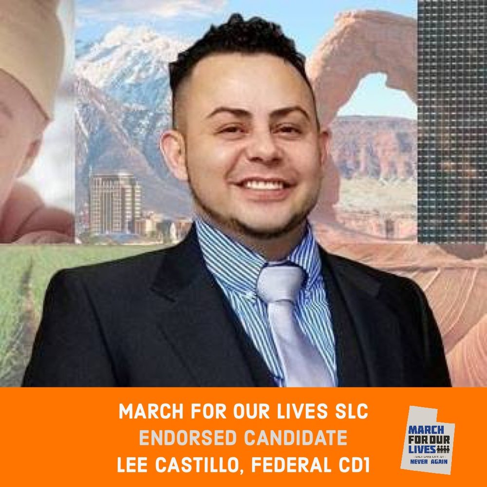 LEE CASTILLO (D)    GRADE: A   Congressional District 1  www.utahisforeverybody.com