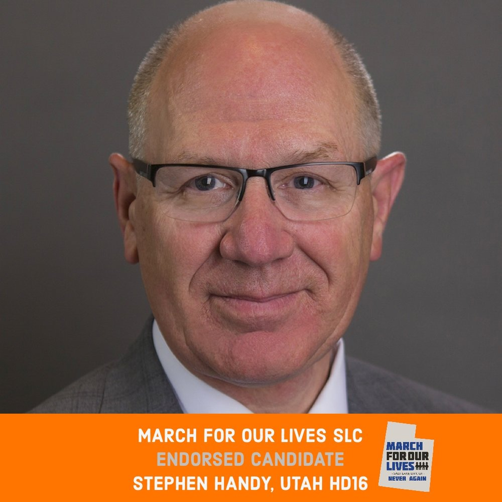 STEPHEN HANDY (R)    GRADE: B   Utah House District 16  www.stevehandyutah.com