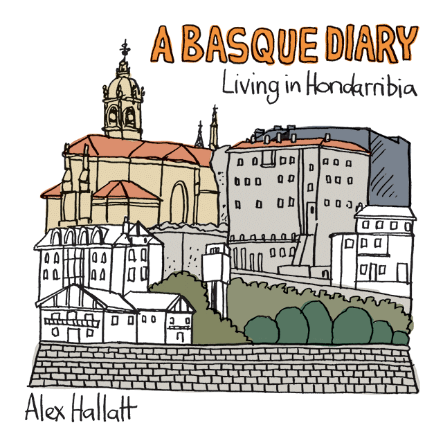 English Version of A Basque Diary on Amazon