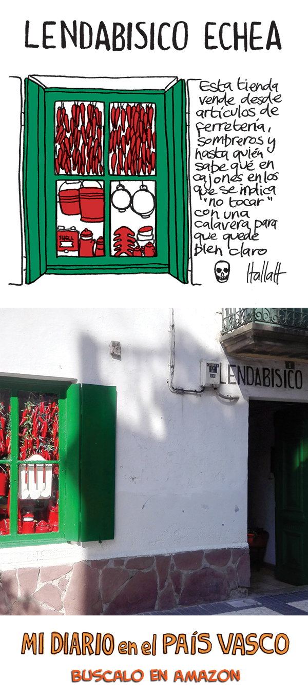 Lendabisco Echea/Etxea en Hondarribia - a great shop for Basque souvenirs