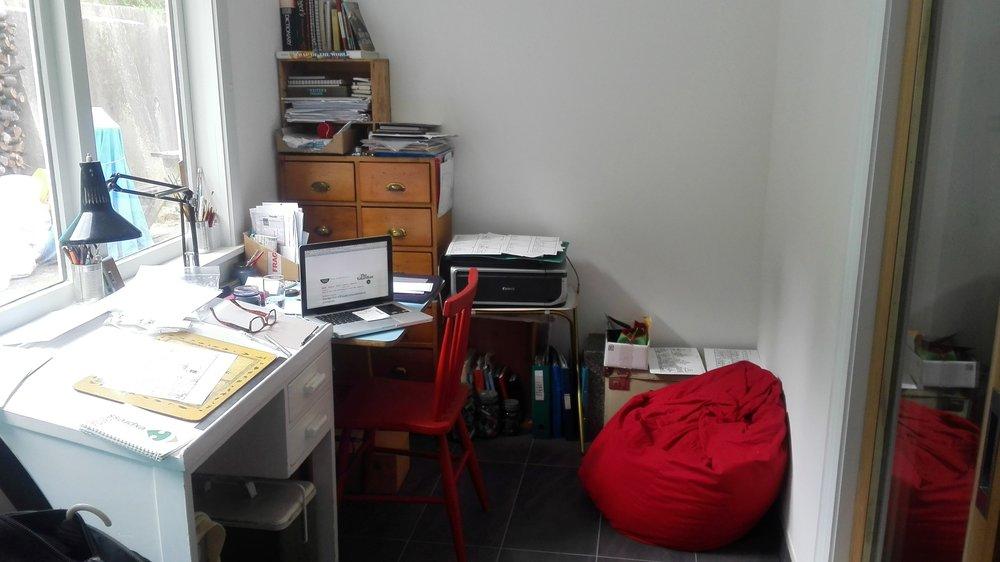 Alex Hallatt's studio