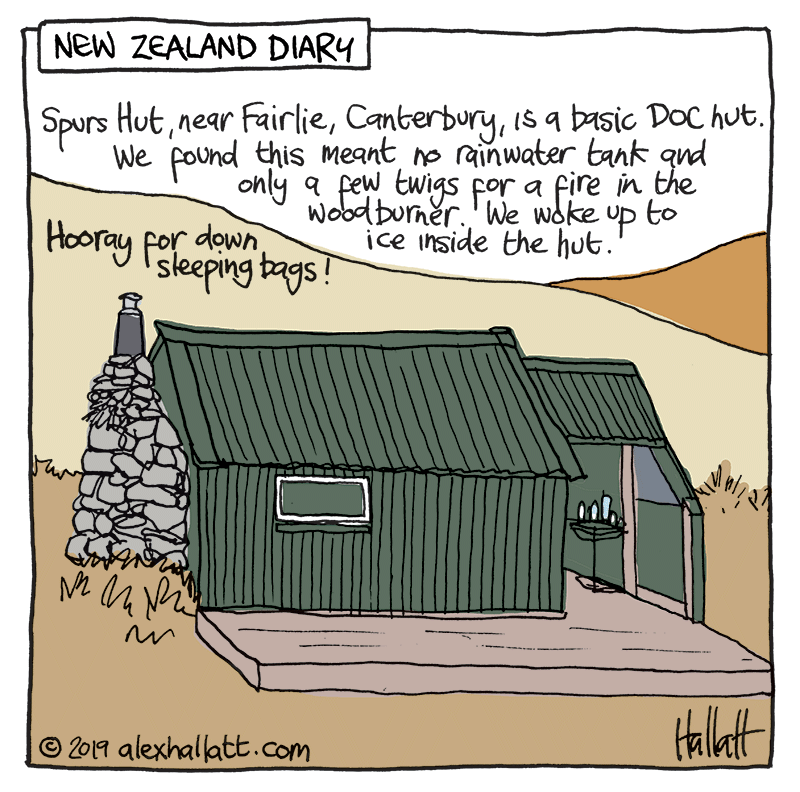Spurs Hut in Canterbury (Click to see options for using the image)