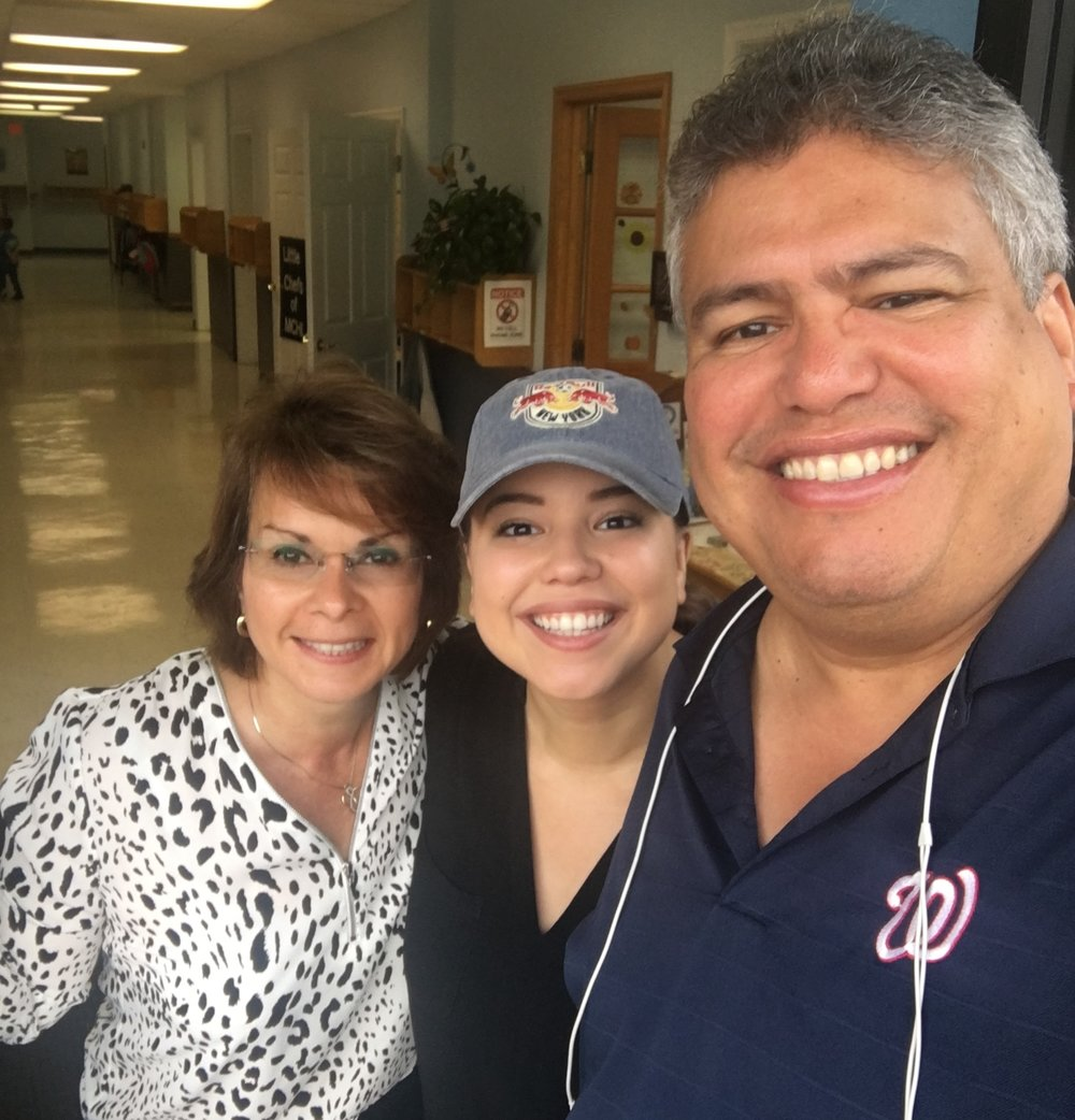 From left: Nilsa, Daksha, and Mel Cordova,  Founders of Project Coqui
