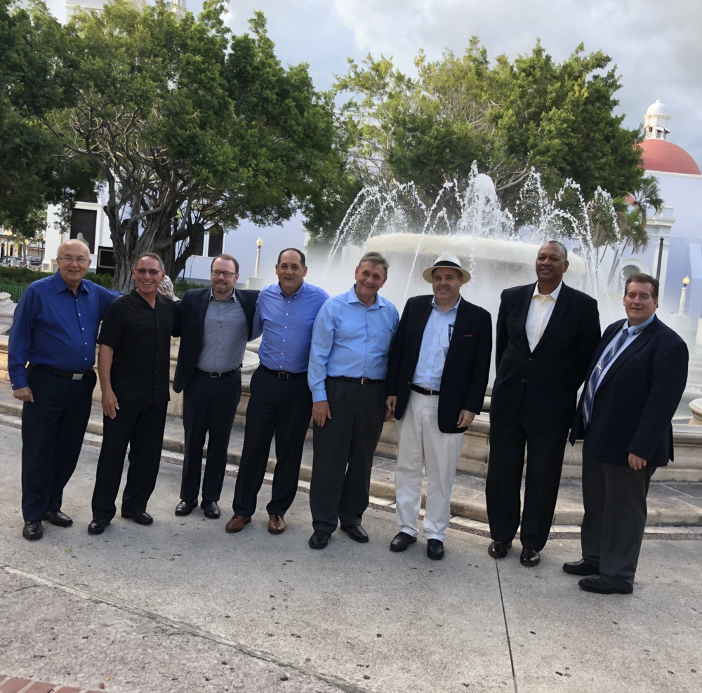 Federal Agency Faith-Based Initiatives PMs visit Ponce Plaza Town Square.