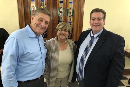 """(From left) Mike Beatty (USDA), Ponce Mayor Maria """"Mayita"""" Melendez and Rich Youngblood (HUD)"""