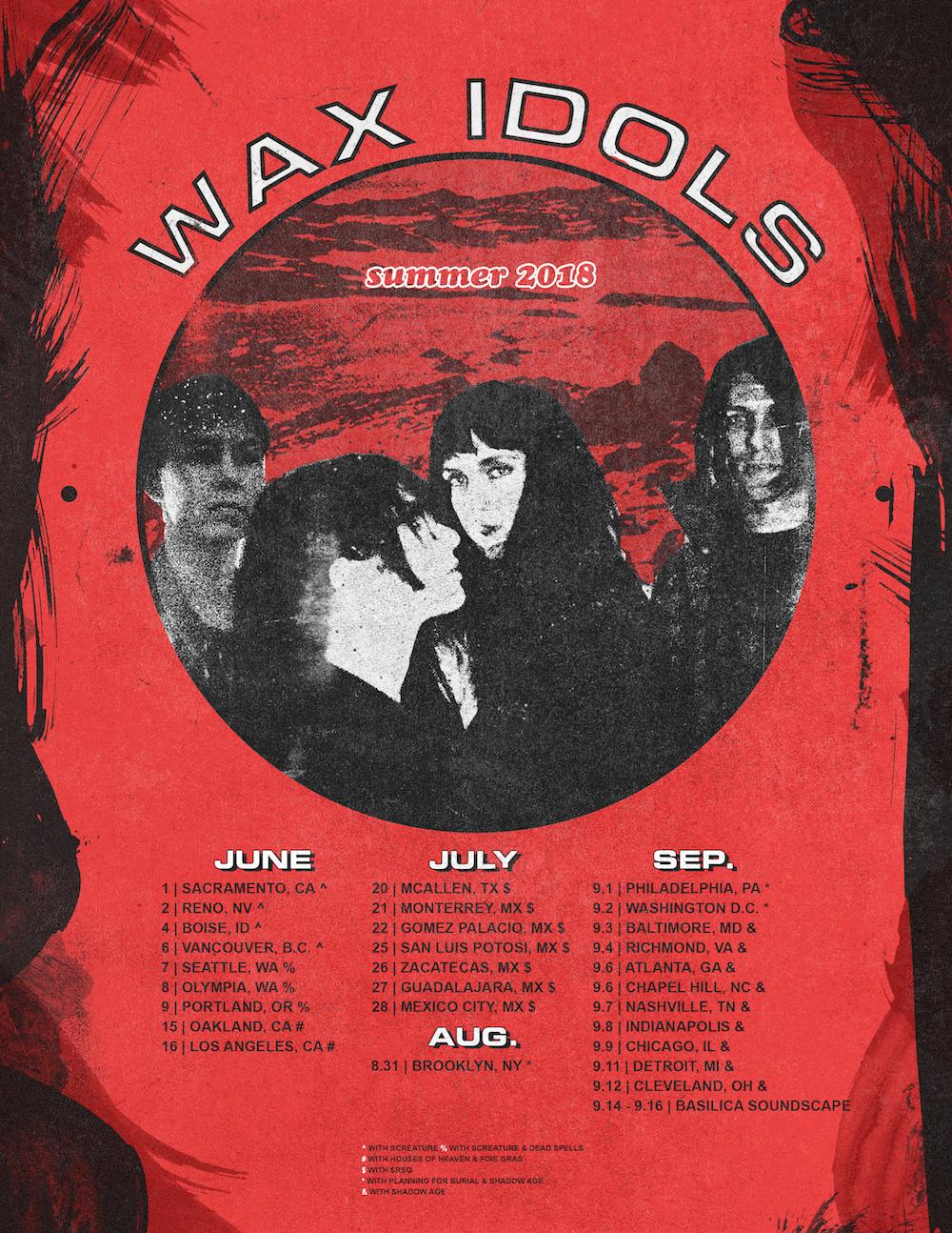 Wax Idols Tour Poster
