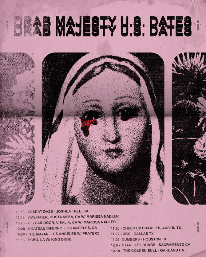 Drab Majesty - Tour