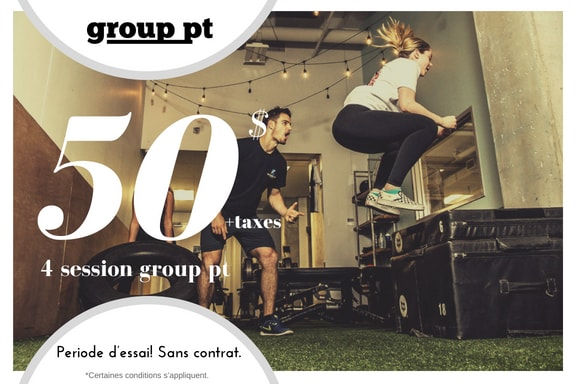 50 dollars off promo group personal trainer