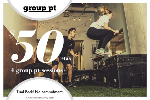 50 dollar off promo group personal training picture