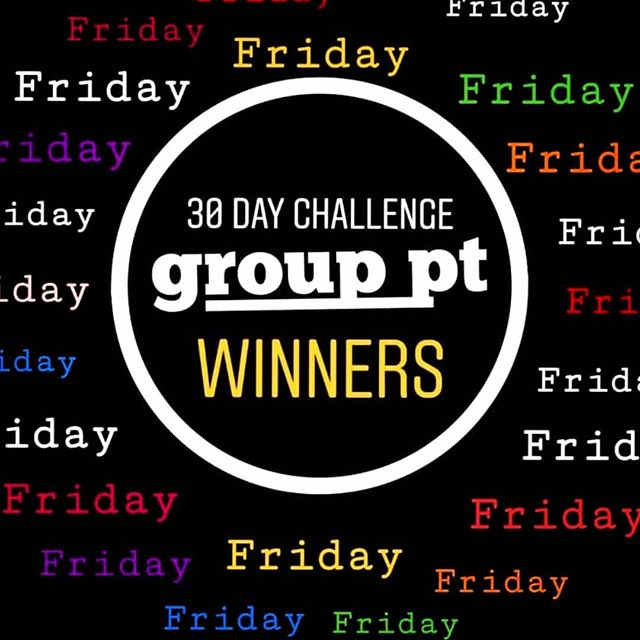 THIS COMING FRIDAY we will announce our 30 Day challenge winners STAY TUNED