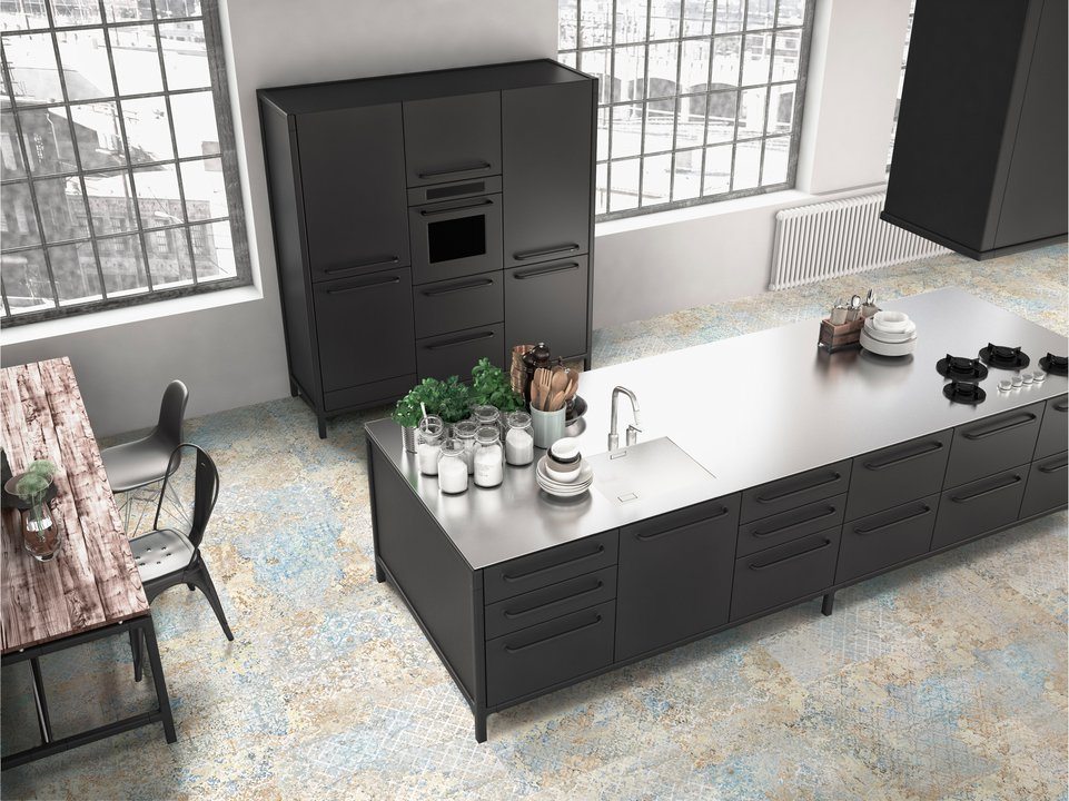 Carpet Tile Collection - Interior and exterior floor cladding