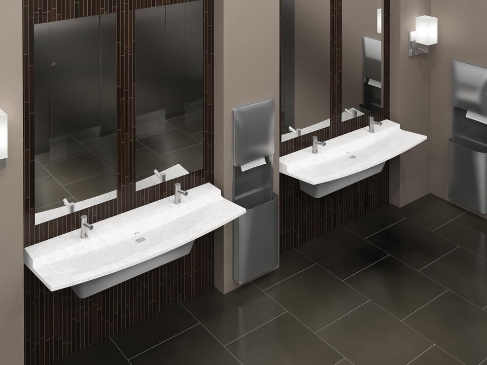 Verge LVL Series - Lavatory systems