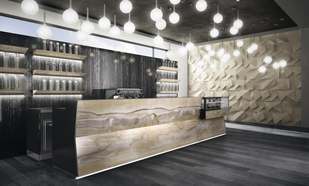 Porcelain Tiles - MaxFine Onici collection