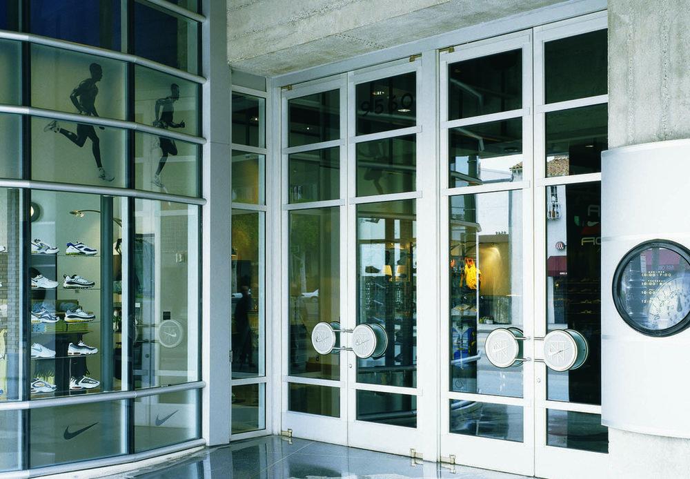 Metallic Doors - Formed Stainless Steel Balanced Door 6.jpg & Aluminum Doors - Extruded Aluminum Balanced Doors u2014 Galaxy Construction