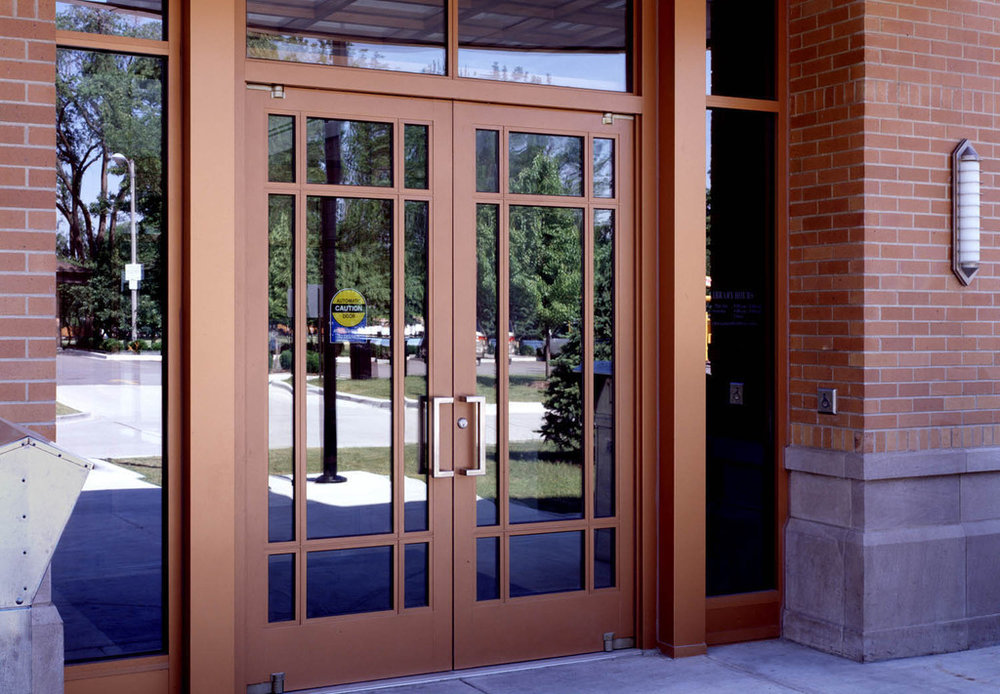 Aluminum Doors - Extruded Aluminum Balanced Doors 2.jpg & Aluminum Doors - Extruded Aluminum Balanced Doors u2014 Galaxy Construction