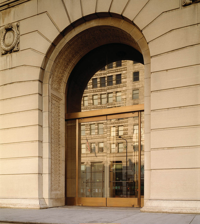 Glass Narrow Stile - Balanced Doors