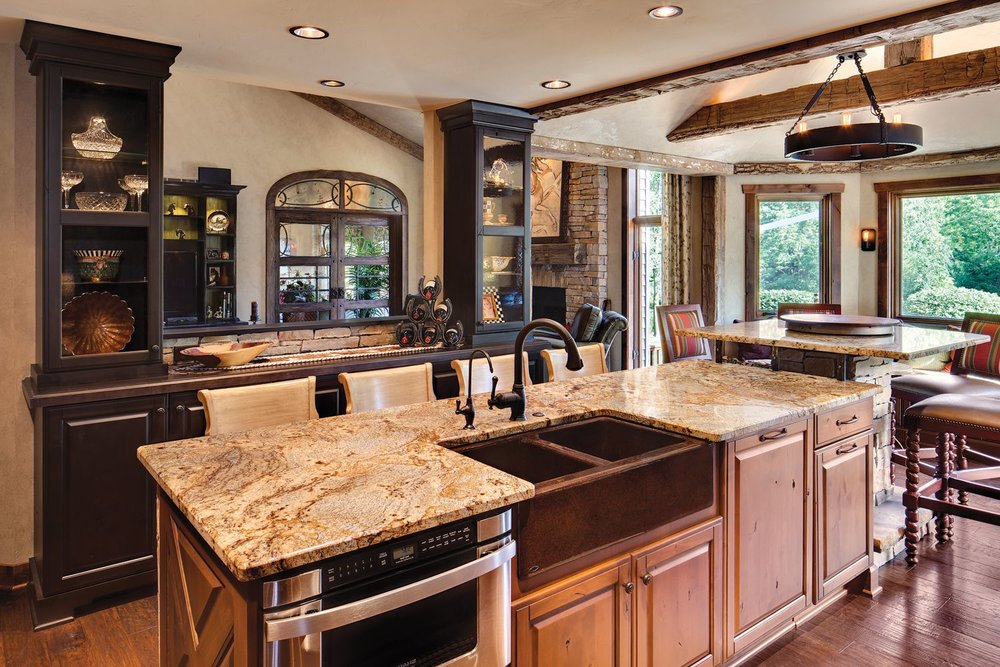 "Rustic kitchens - ""Worn,"